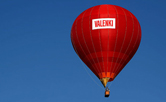 VALENKI rose into the sky on its own balloon