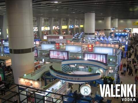 Гонконг. VALENKI водка путешествует по миру